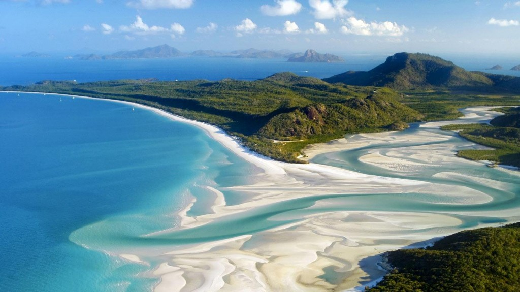 4 - Whitehaven Beach, Austrália