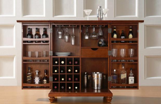 Adegas e barzinhos tudo para homens for Petit meuble bar moderne