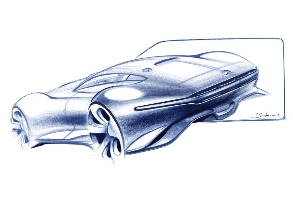 """Szizzen/Designprozess  Mercedes-Benz AMG Vision Gran Turismo"""