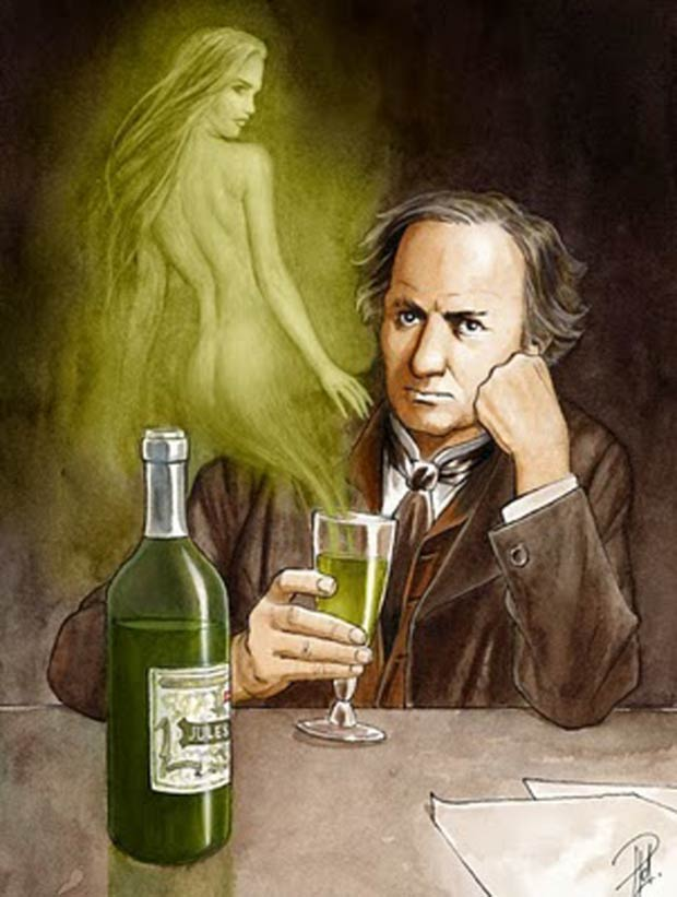 Baudelaire-Absinto-Verde