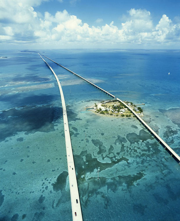 Seven-Mile-Bridge,-Florida-Keys-Flórida,-Estados-Unidos