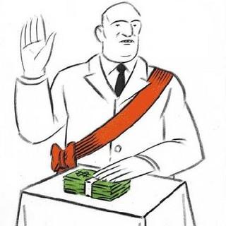 Político ladrão