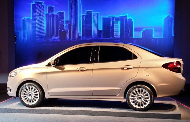 Ford revela o novo Ka Concept Sedã