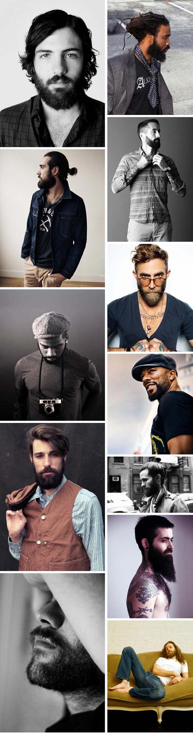 Barbas masculinas