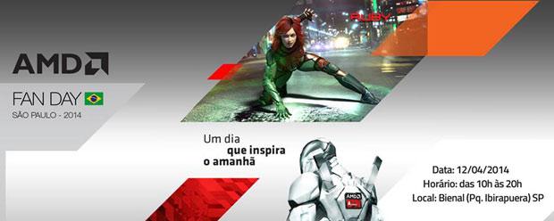"AMD traz o evento ""AMD Fan Day"" para o Brasil"
