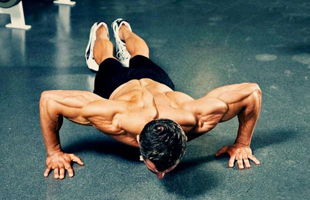 5 motivos pra você fazer flexão de braço