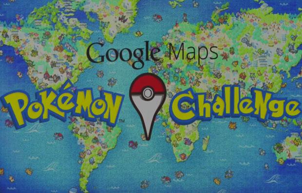 Google lança Caça aos Pokémons no Google Maps