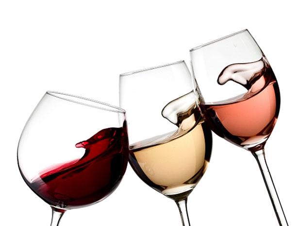 A taça ideal para cada tipo de vinho