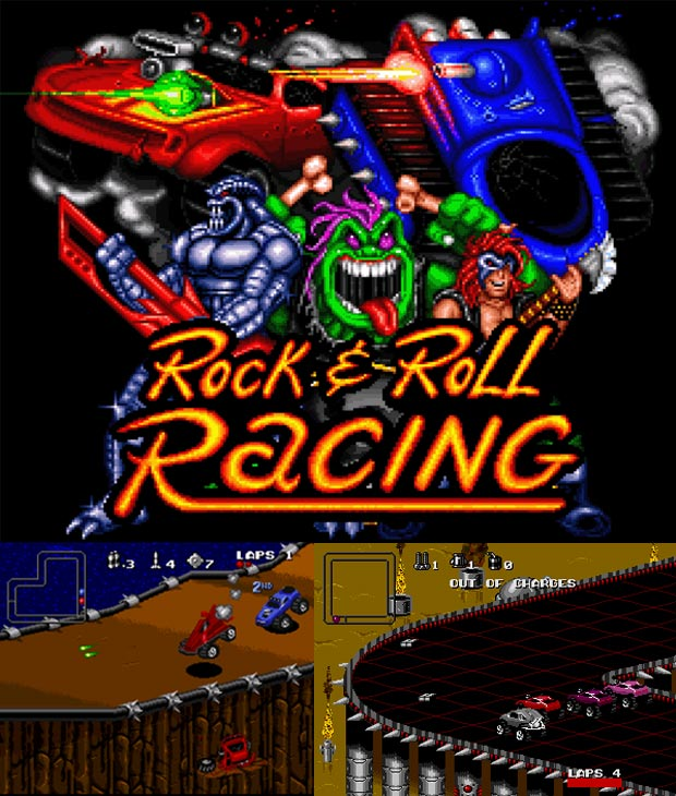 Rock & Roll Racing