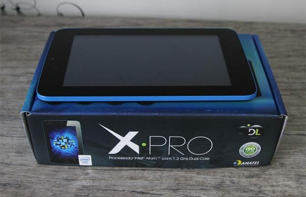 DL lança tablet X-Pro com processador Intel
