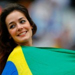 As Gatas da Torcida da Copa do Mundo 2014 no Brasil