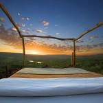Resort no Quênia oferece a experiência de ficar em um quarto ao ar livre