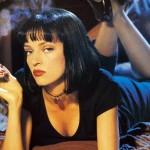 """Uma Thurman leiloa sessão exclusiva de """"Pulp Fiction"""" ao seu lado"""