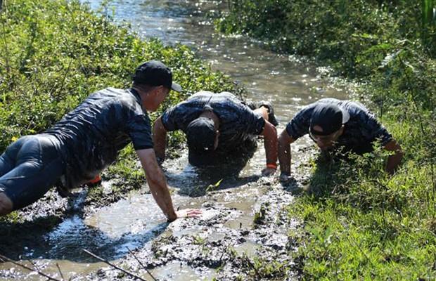 Iron Race, uma prova que segue os padrões de treinamento do exército