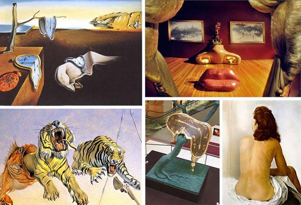Obras de Salvador Dalí