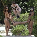 Skatista Eli Reed se divertindo na mansão da Playboy