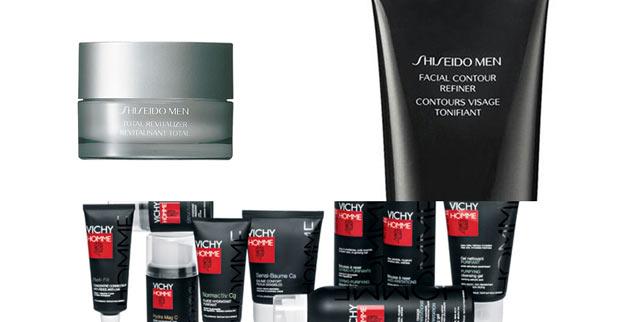 Shiseido-Vichy-Homme
