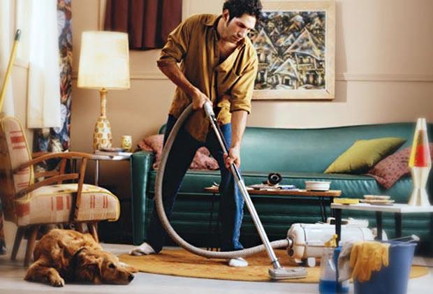 Limpando a casa