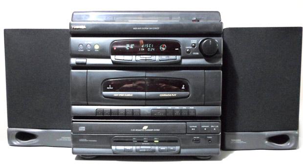 Aparelho de som 4 em 1 Toshiba