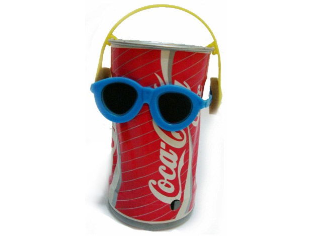 Lata de Coca-Cola Dançante