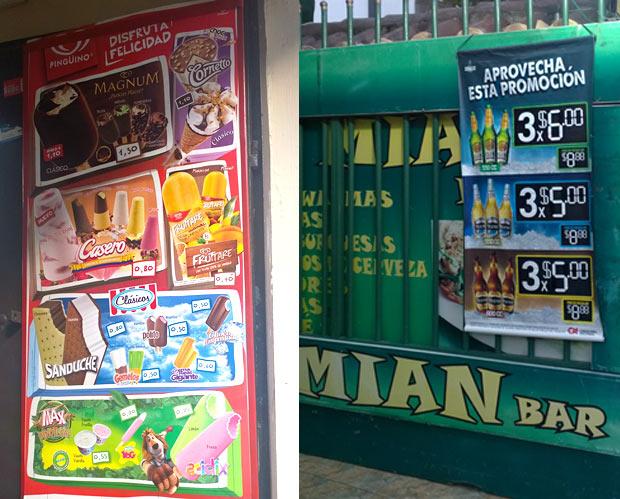 Preços Quito