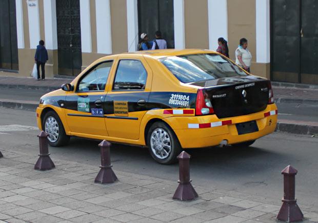 Táxi - Quito
