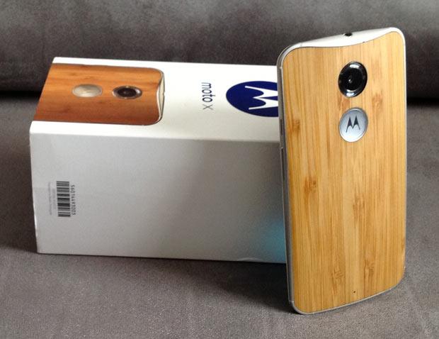 Novo Moto X Bambu