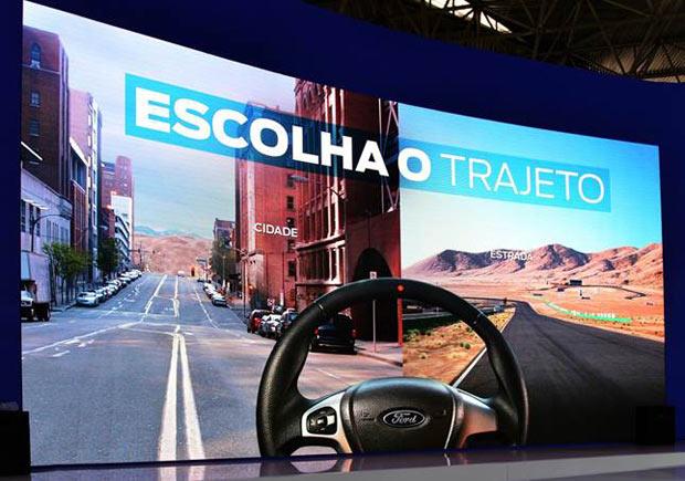 simulador Ford Salão do Automóvel