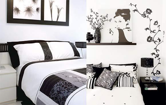 decoracao tudo branco:Decoração: Quartos P&B