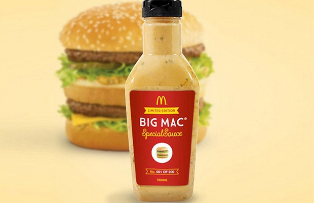 """McDonald's começa a vender """"molho especial"""" do Big Mac"""