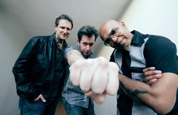 (da esq. p/ dir.) Philippe Seabra, Andre X e Clemente Nascimento