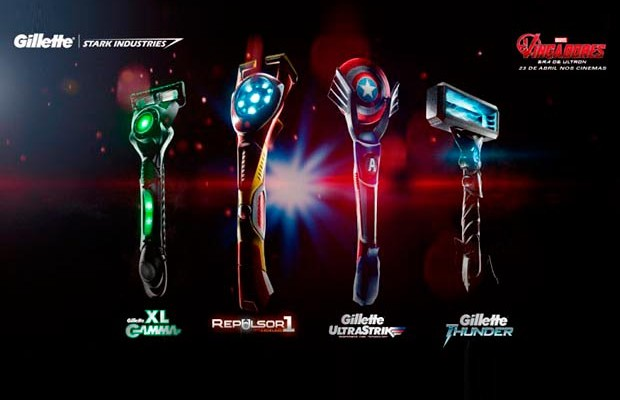 Gillette & Marvel