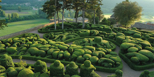 1 – Os Jardins de Marqueyssac, França
