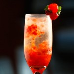 Receita: Drink 'Strawberry' [Blá Bar]