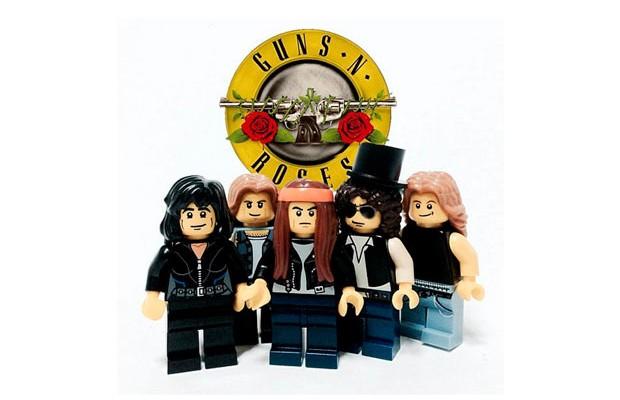 Garoto transforma bandas famosas de rock em LEGO
