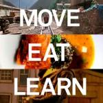 Mover, comer e aprender.