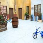 Exposição traz réplica oficial da Vila do Chaves no Vale Sul Shopping