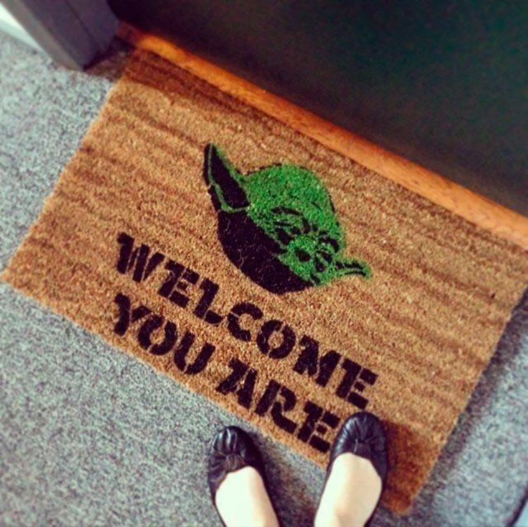 Capacho do Mestre Yoda