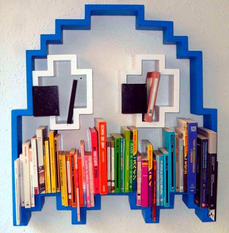 estante-livros-pacman