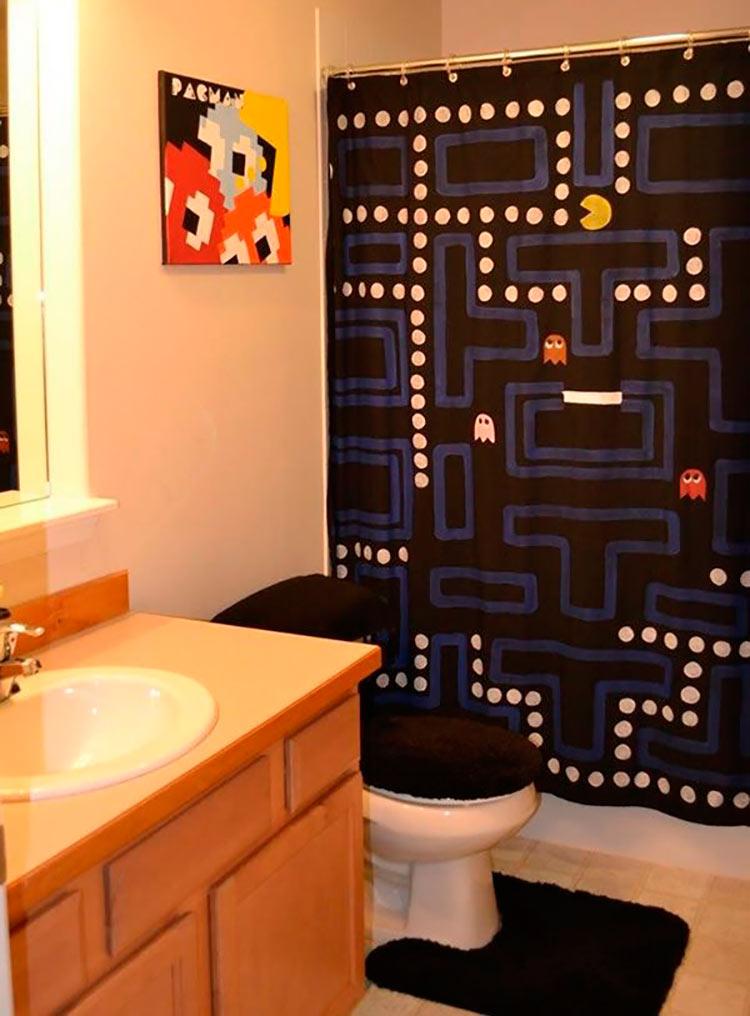 Decoração Geek  Tudo Para Homens -> Decoracao Geek Banheiro