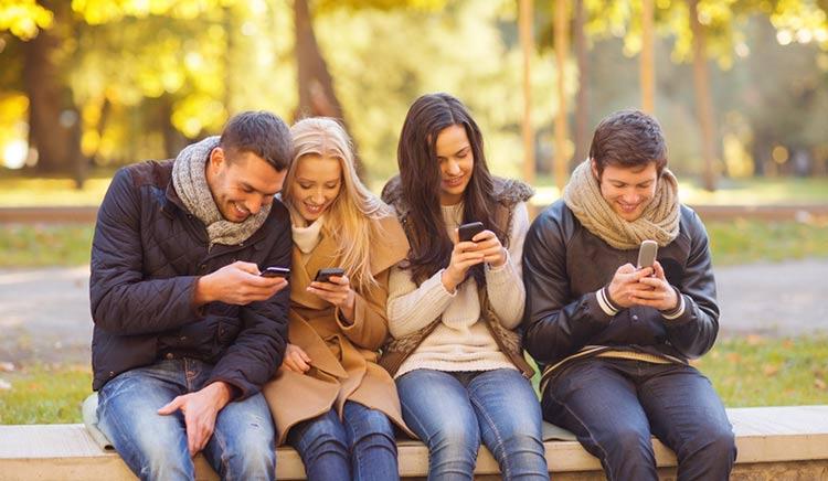 amigos smartphone