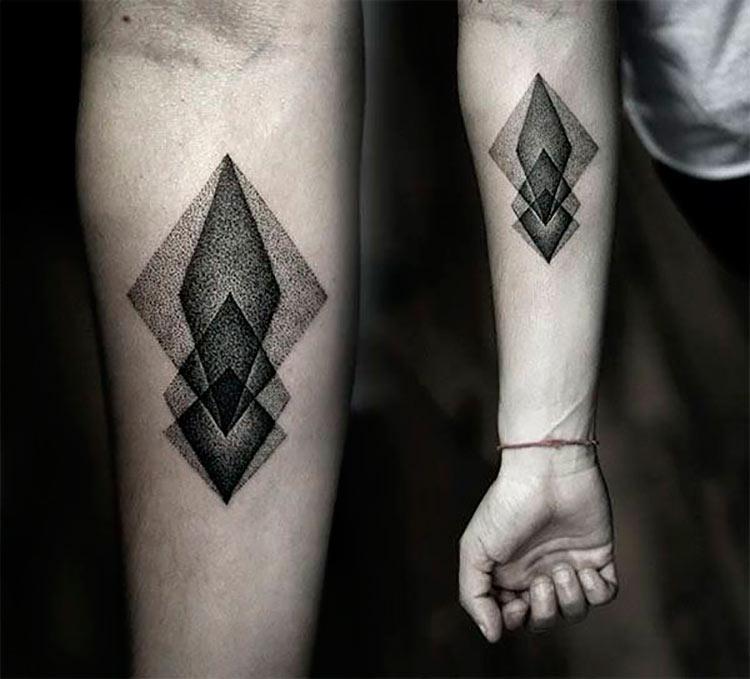 tatuagem-geometrica-pontilhismo