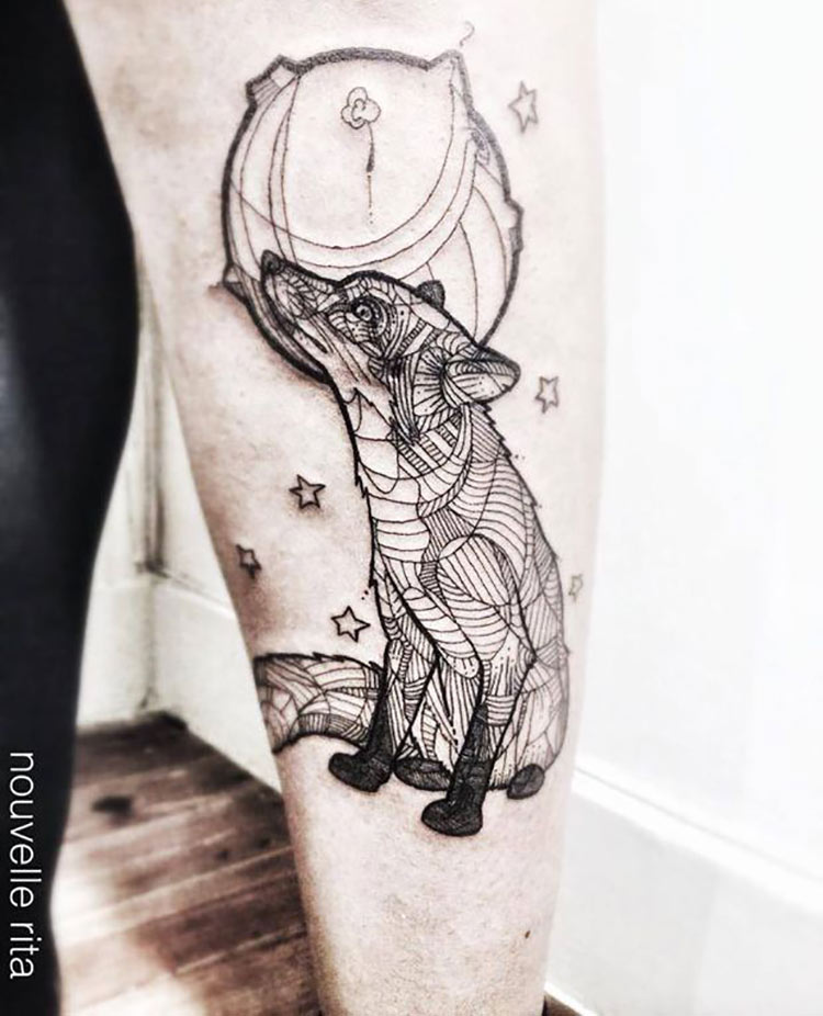 tatuagem-lobo-geometrica