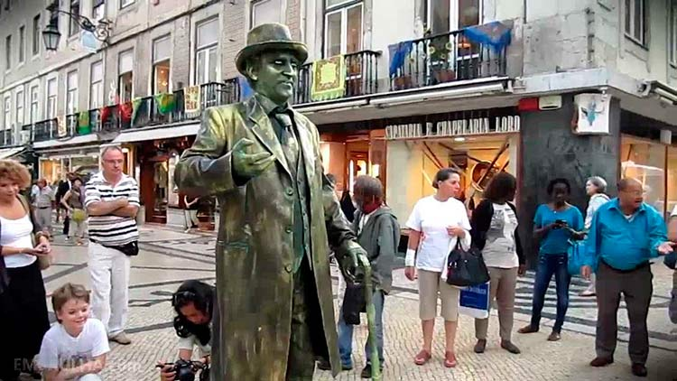 homem-estatua