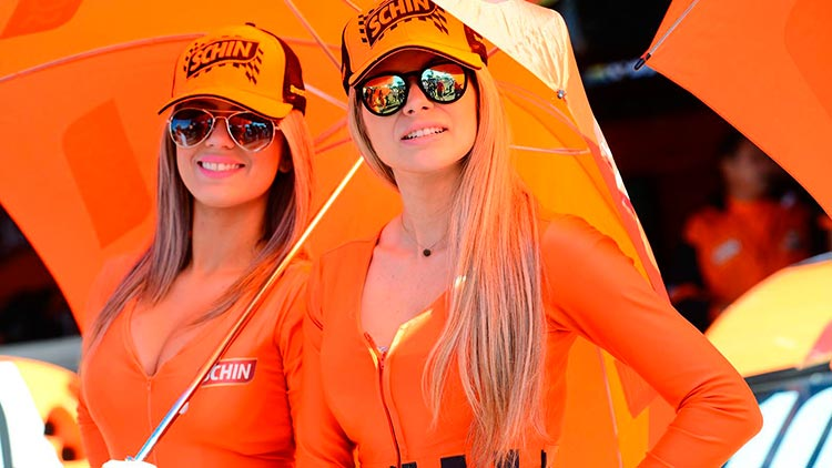Stock Car girls