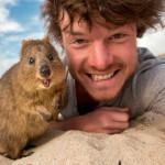 Allan Dixon e suas selfies animais!