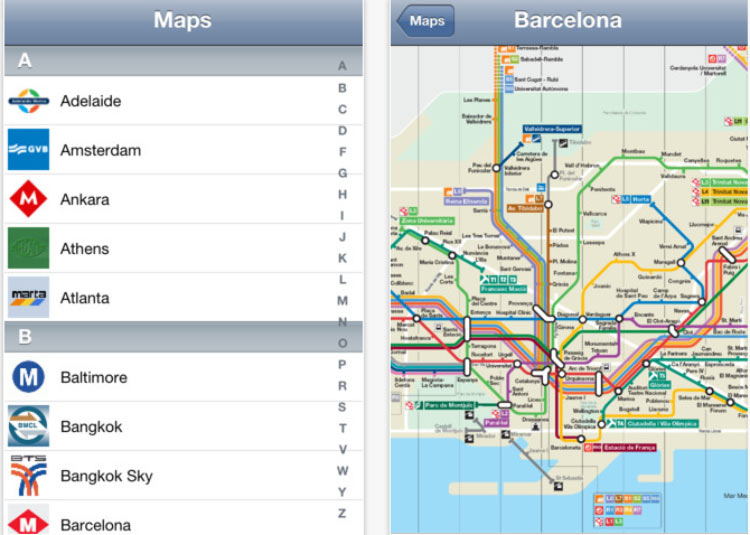 All-Subway-App