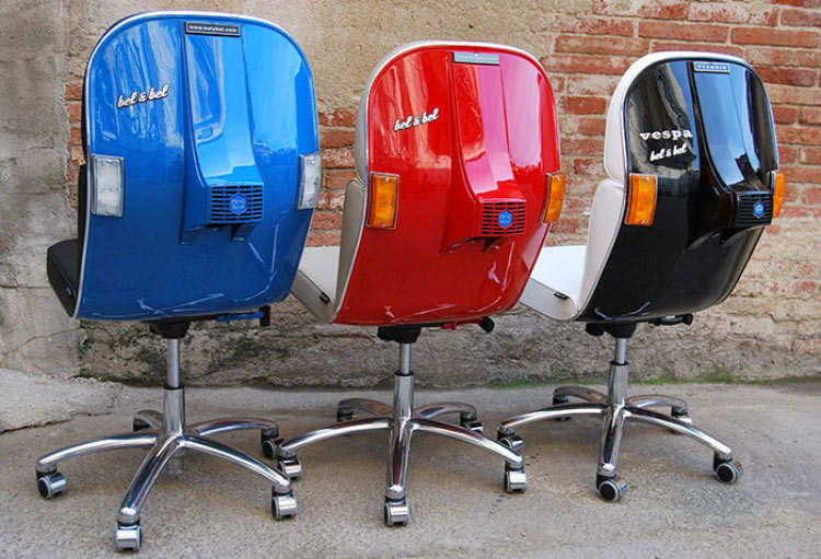 vespa-scooter-cadeira-escritorio