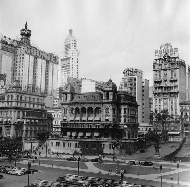 Centro de São Paulo - Anhangabaú (1955)