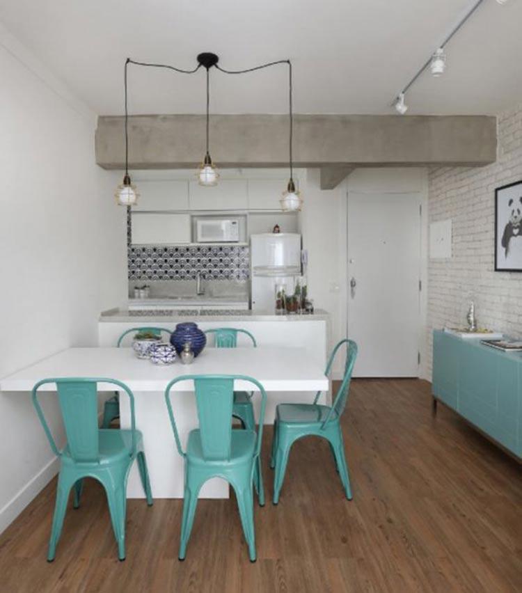 decoracao de apartamentos pequenos para homens:Soluções de arquitetura e decoração para apartamentos pequenos